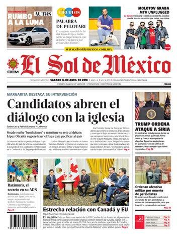 3f7a0f31e El Sol de México 14 de abril 2018 by El Sol de México - issuu