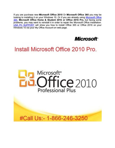 microsoft office home and student 2010 installer