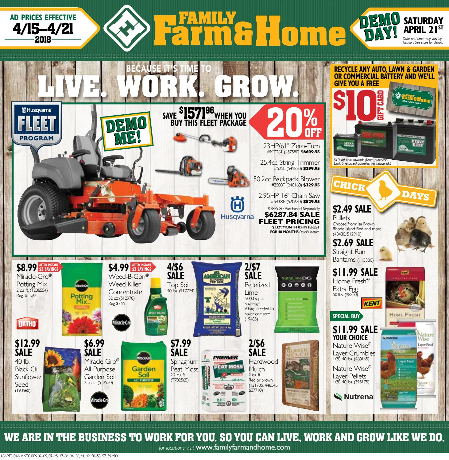 Family Farm & Home APT3 Ad (Effective April 15-21, 2018) by