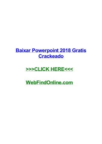 download powerpoint 2018 crackeado