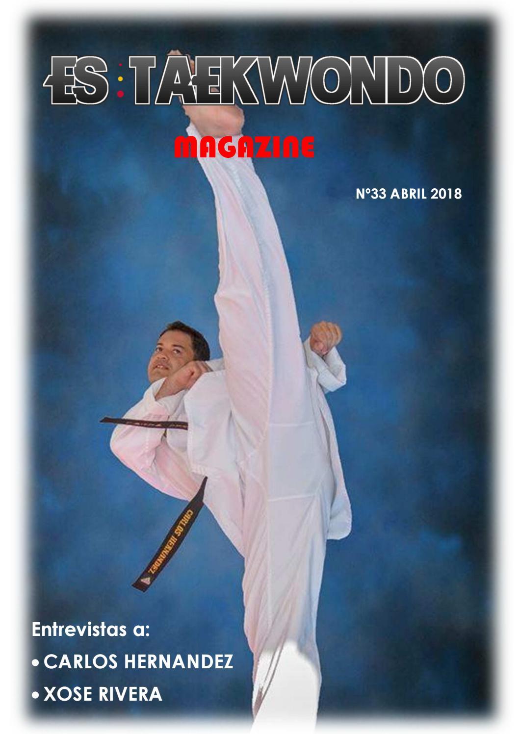 33 Es Taekwondo Magazine by Es Taekwondo - issuu