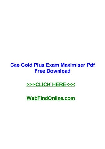 Distorbooth • blog archive • cae gold plus exam maximiser answers pdf.