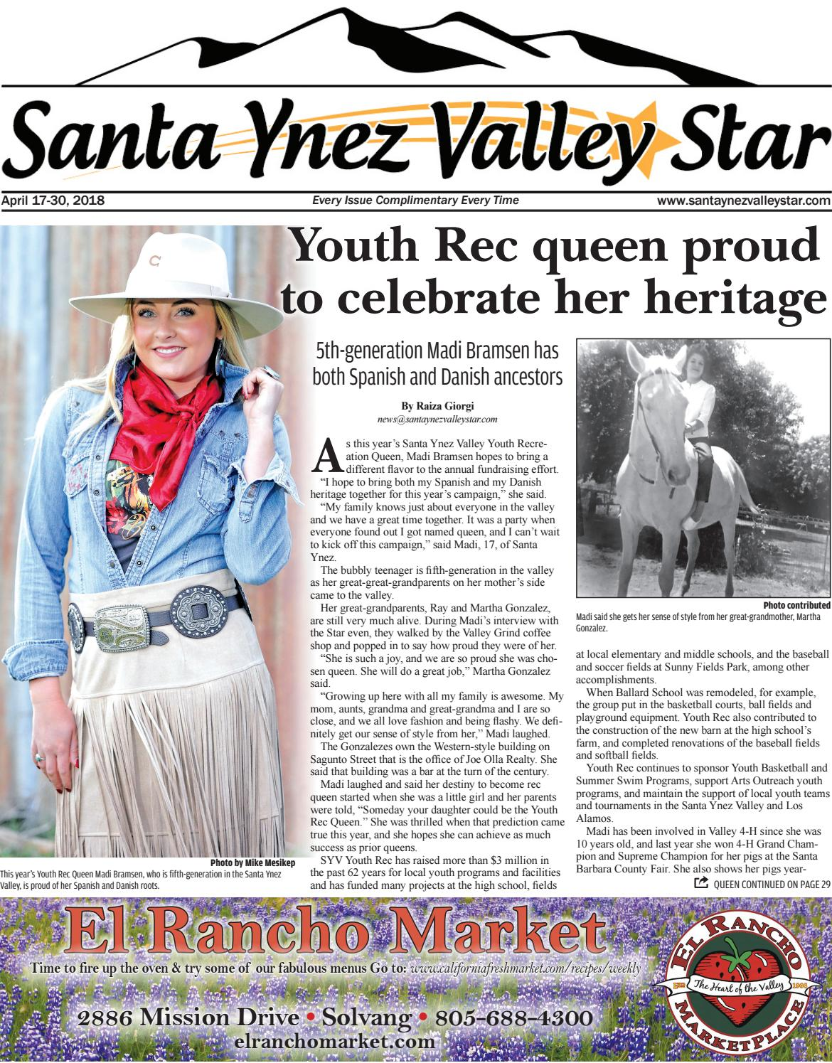 Santa Ynez Valley Star April B 2018 by Santa Ynez Valley