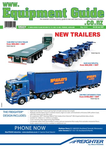 best sneakers 219c8 06d4f Equipent Guide by NZ Truck   Driver - issuu