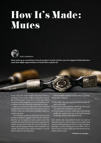 Page 23 of How It's Made: Mutes