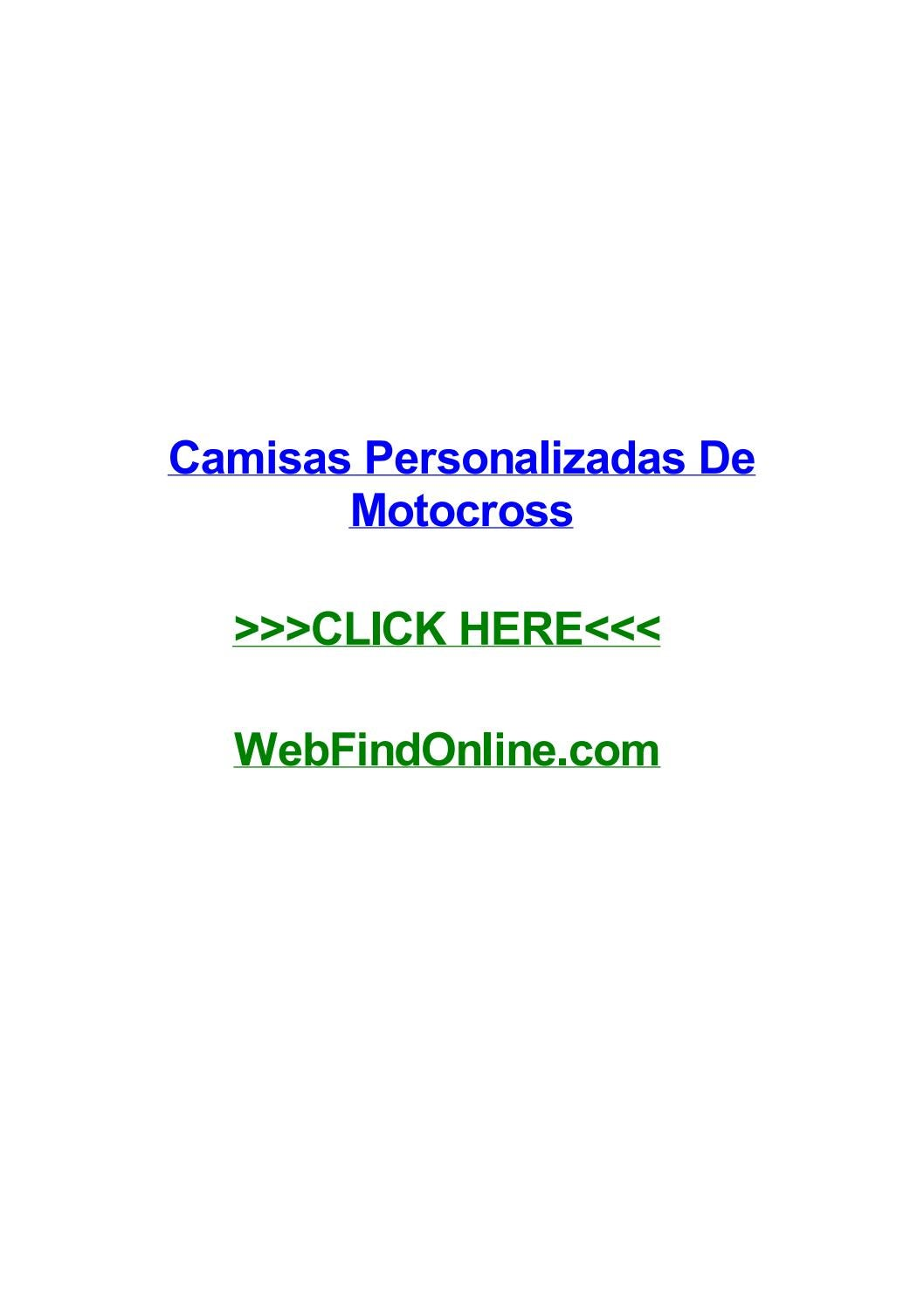 Camisas personalizadas de motocross by juannuofp issuu fandeluxe Choice Image