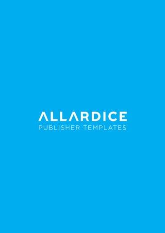 Allardice - Publisher Yearbook Templates 2018 by Jenny Lynch - issuu