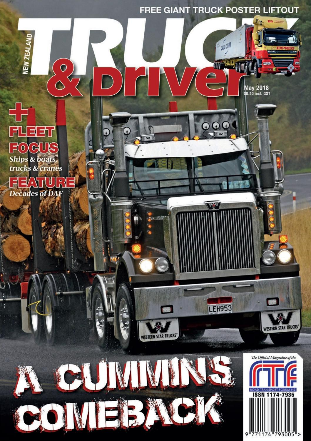 Toyota Company Latest Models >> NZ Truck & Driver May 2018 by NZ Truck & Driver - Issuu