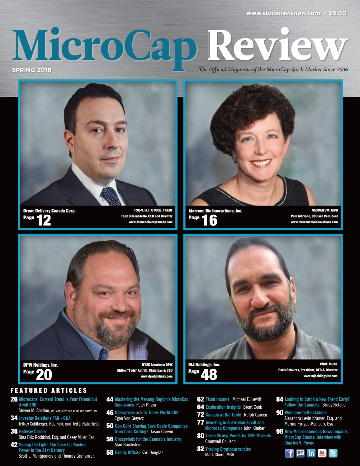 932d24c055a MicroCap Review Spring 2018 by MicroCap Review Magazine - issuu