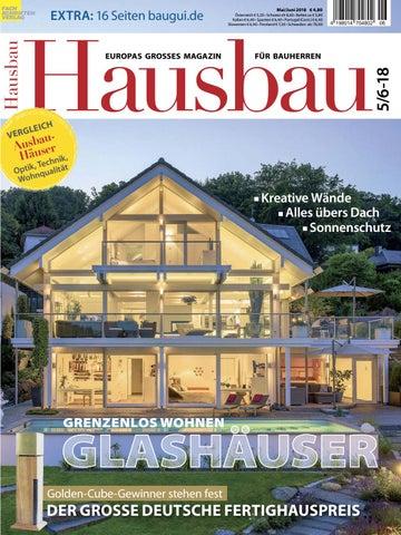 Hausbau 5/6 2018 By Fachschriften Verlag   Issuu