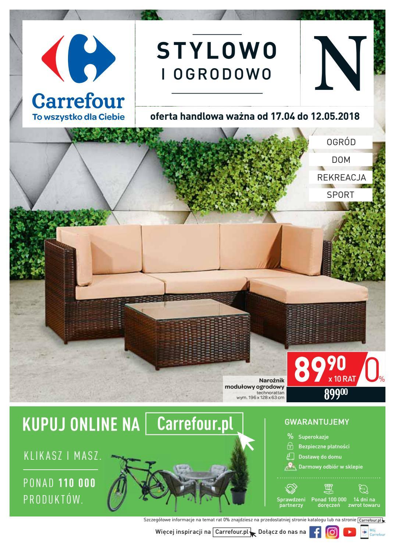 Carrefour Gazetka Ogród Od 1704 Do 12052018 By Iulotkapl
