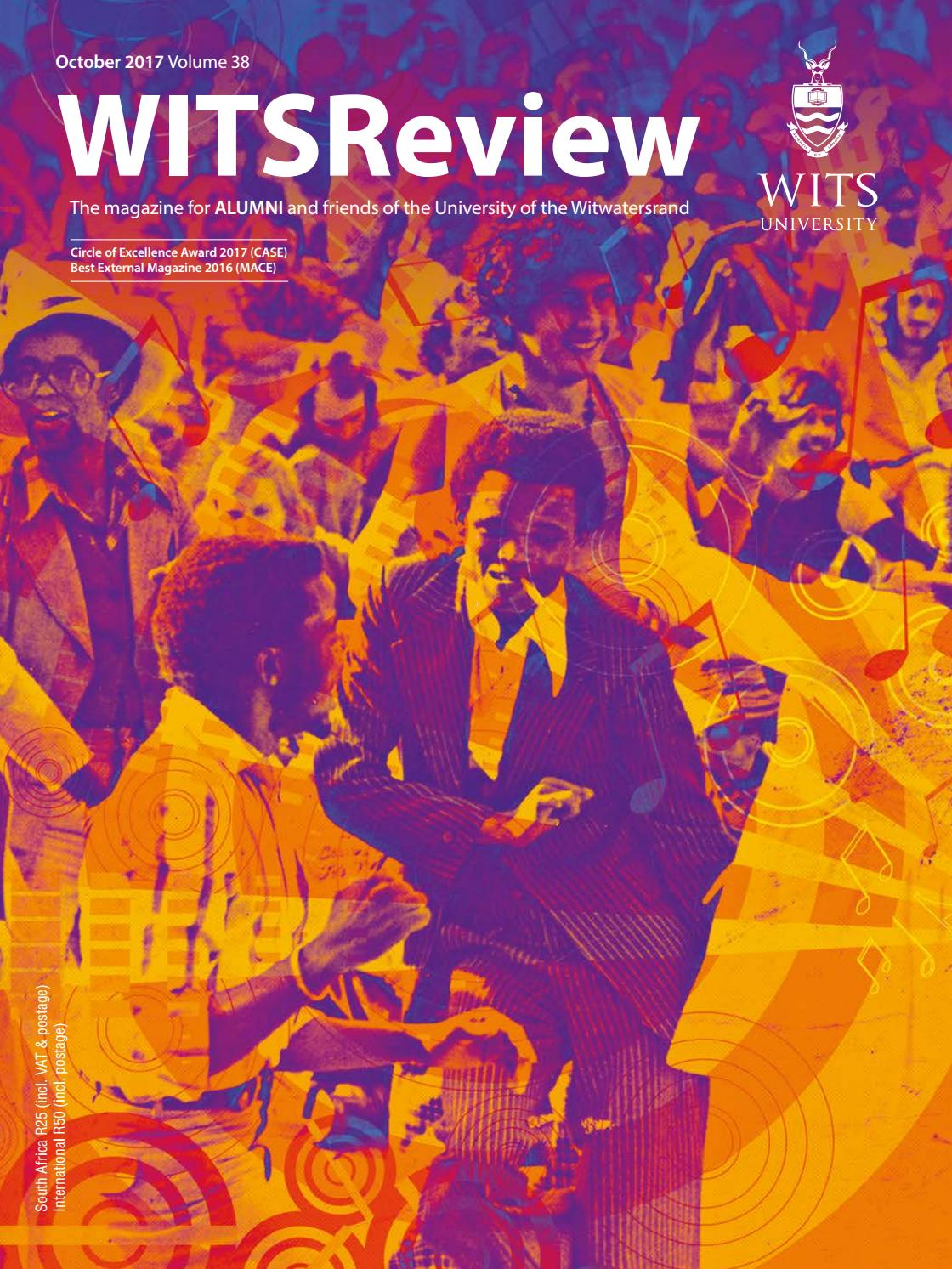 Wits Review October 2017 by Wits Alumni Relations - issuu