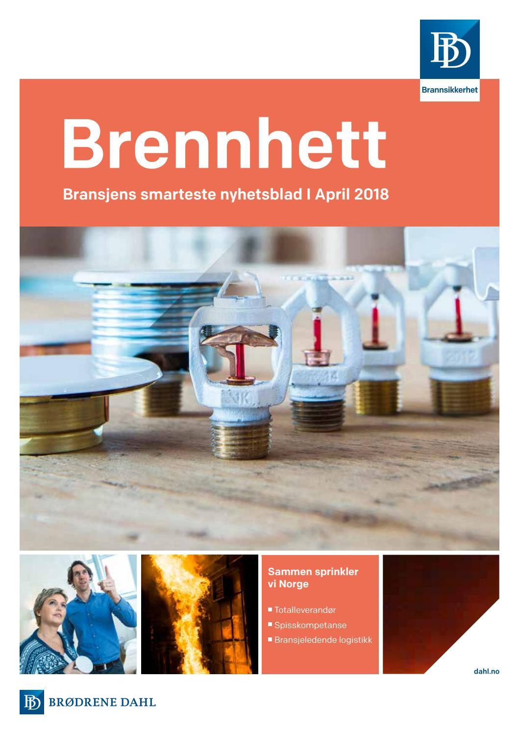 Brennhett nyhetsbrev april18 by Brødrene Dahl - issuu