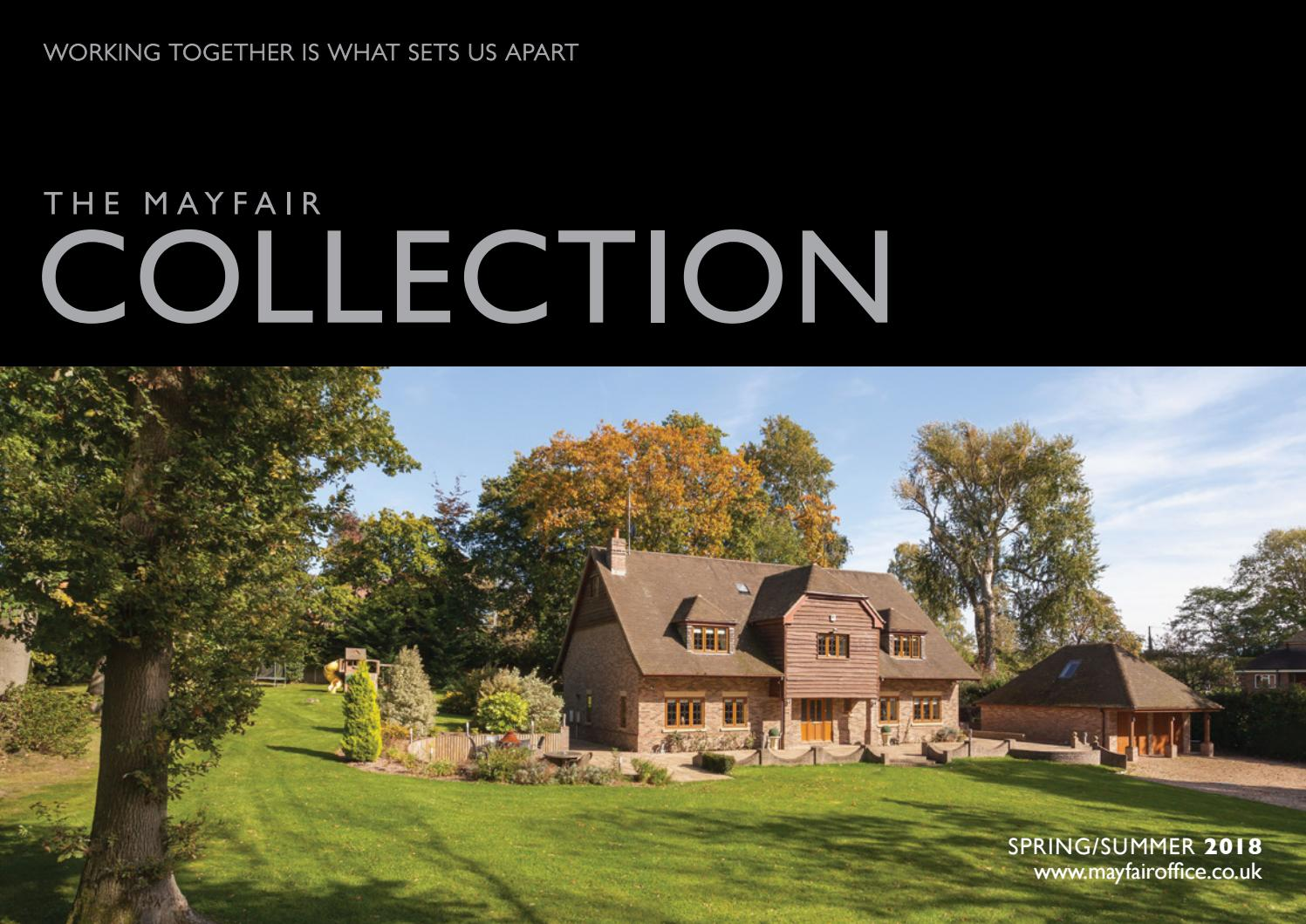 Mayfair Collection Spring Summer 2018 By Pelusacreate Issuu