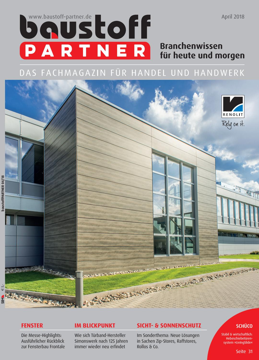 baustoffPARTNER April 2018 by SBM Verlag GmbH - issuu