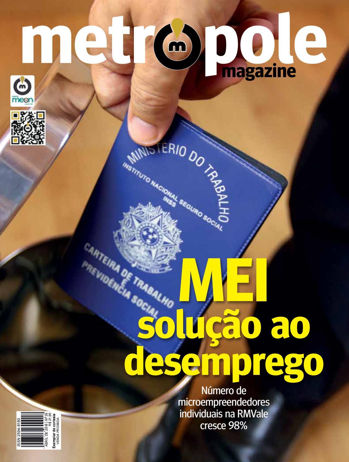 Metrópole Magazine - Abril de 2018   Edição 38 by Portal Meon - issuu b500dc02de