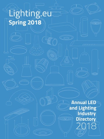 e72ec79569d Lighting.EU Spring 2018 by LIGHTING.EU - issuu