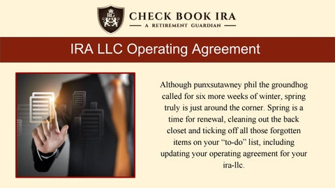 Self Directed Roth Ira Llc Check Book Ira Llc By Check Book Ira