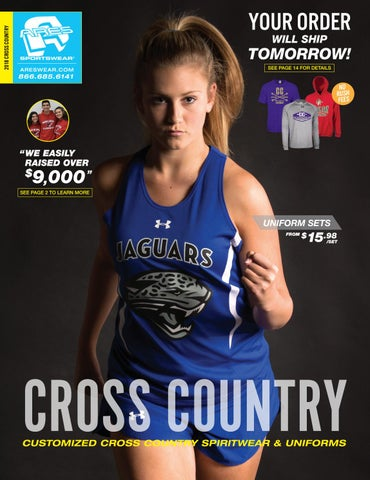 faaf47a3 2018 Ares Sportswear Cross Country Catalog by Ares Sportswear - issuu