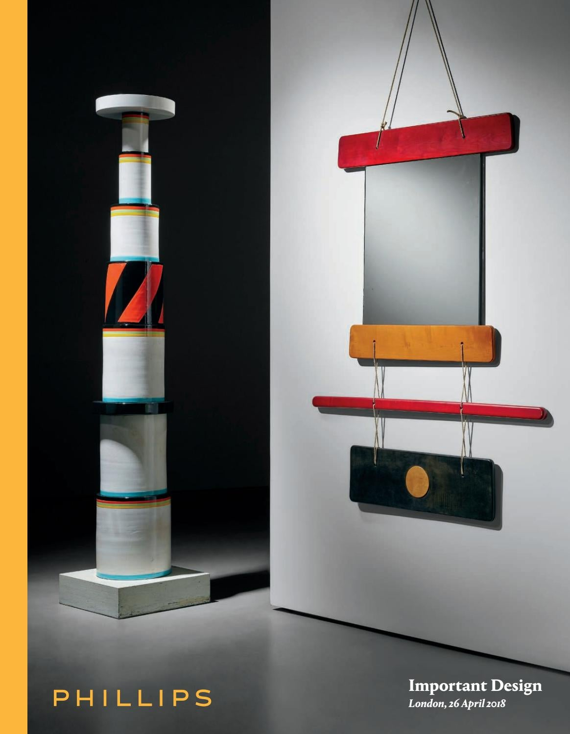 Important design catalogue by phillips issuu for Mobilia international