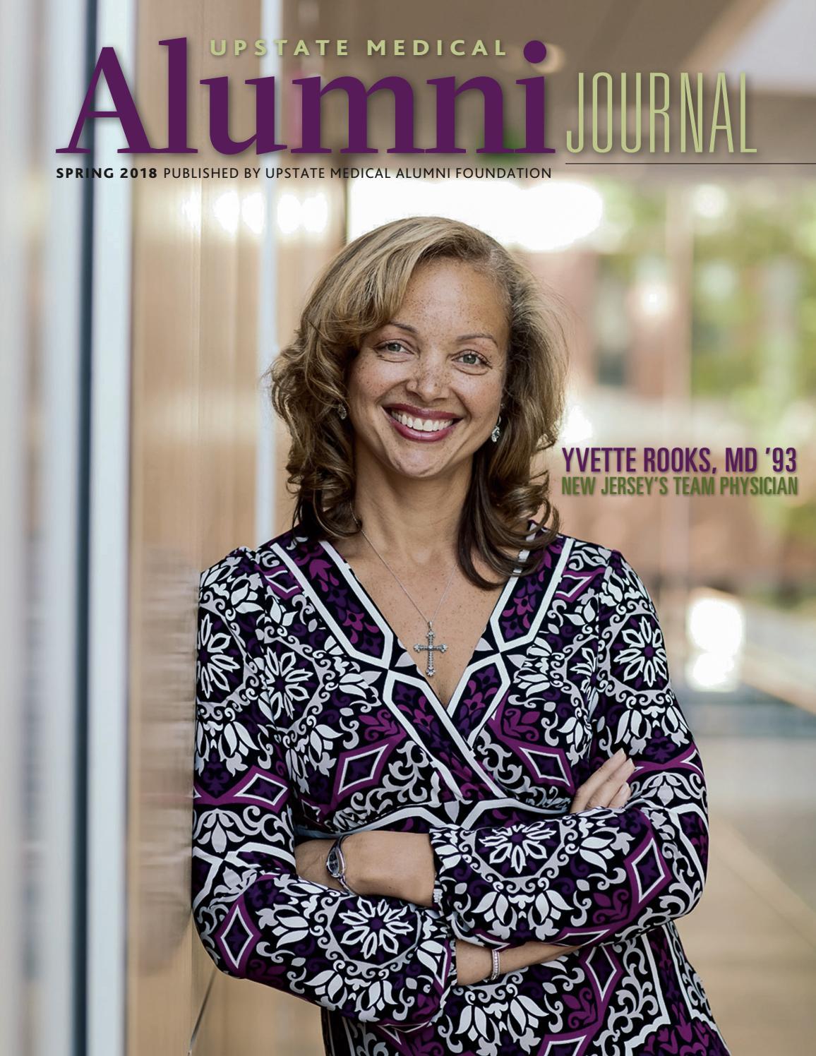 Upstate Medical Alumni Journal SP2018 by Kiefer Creative - issuu