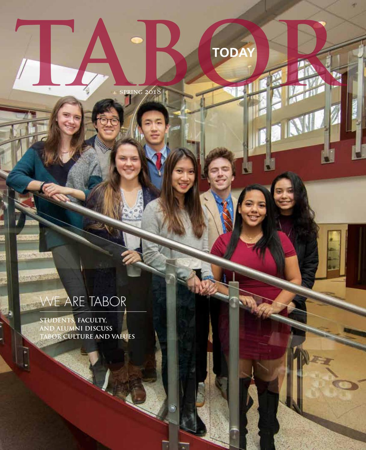 Tabor Today Spring 2018 by Tabor Academy - issuu