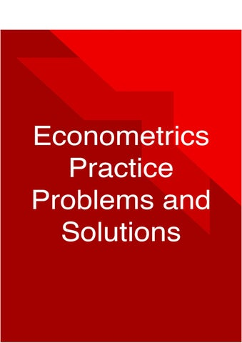 Do you need an econometrics assignment or dissertation?