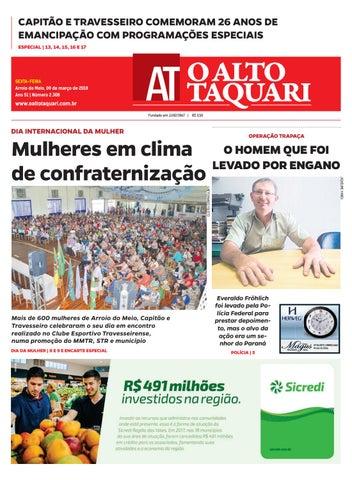 a230cd1574 Jornal da Semana - 09 de março de 2018 by Jornal O Alto Taquari - issuu