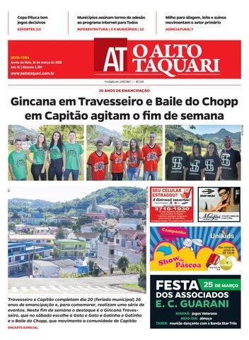 21ae5dd98 Jornal O Alto Taquari - 16 de março de 2018 by Jornal O Alto Taquari ...
