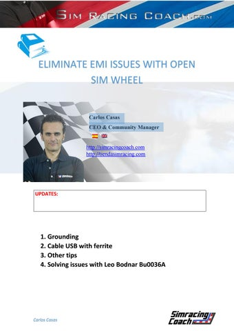 Tutorial eliminate emi issues by simracingcoach - issuu