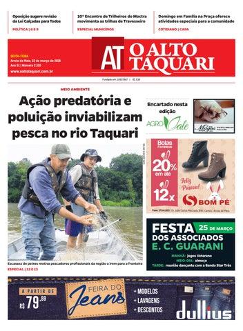 1a1f78ca2 Jornal O Alto Taquari - 23 de março de 2018 by Jornal O Alto Taquari ...