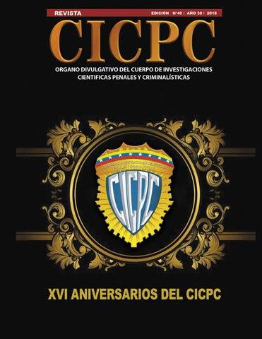 Revista Cicpc Edición Nº 40 By Revista Cicpc Issuu
