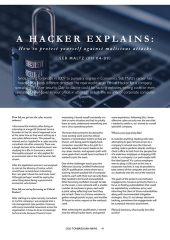 Page 41 of A Hacker Explains: How To Avoid Malicious Attacks