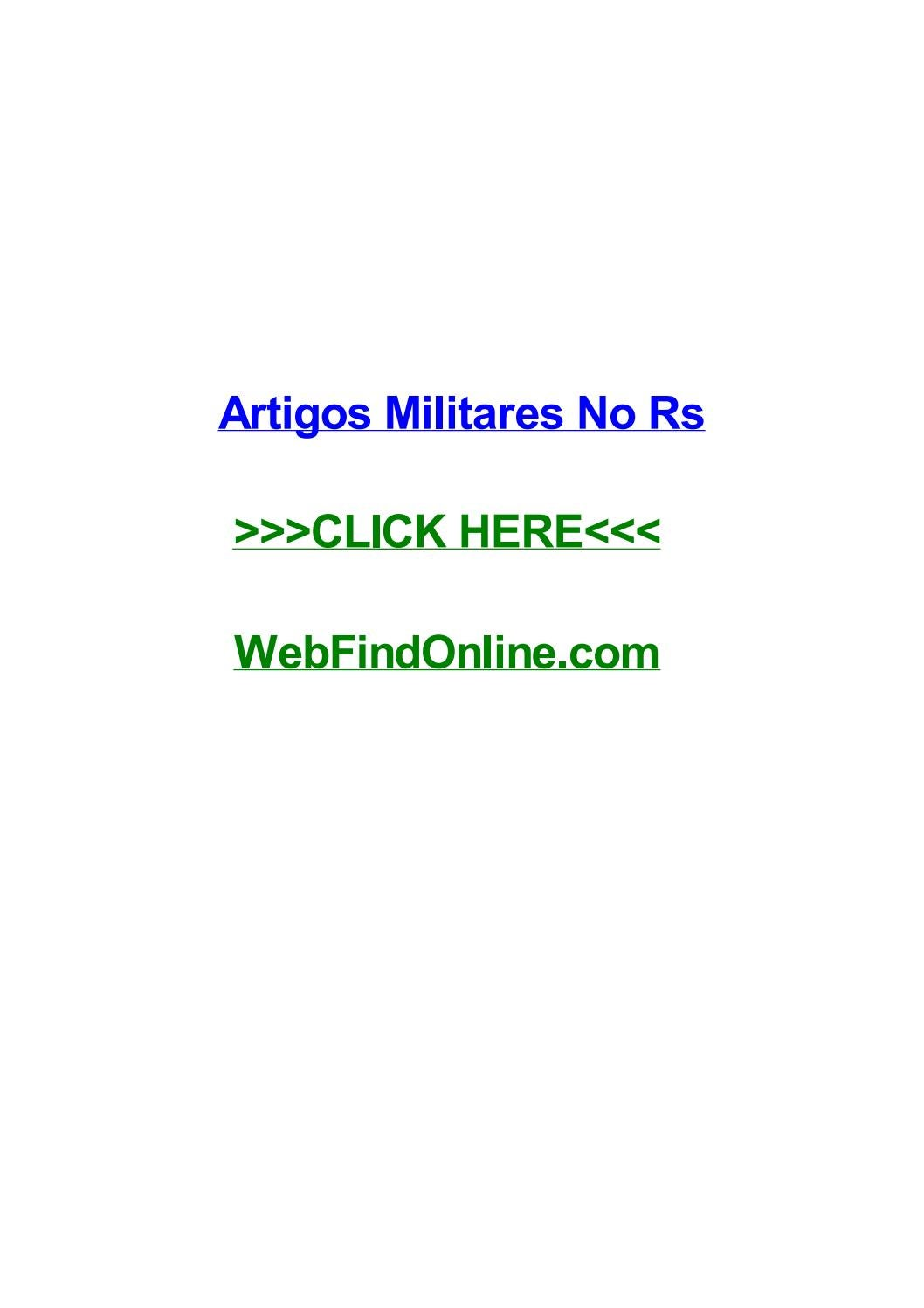 Artigos militares no rs by ricknootn issuu fandeluxe Image collections