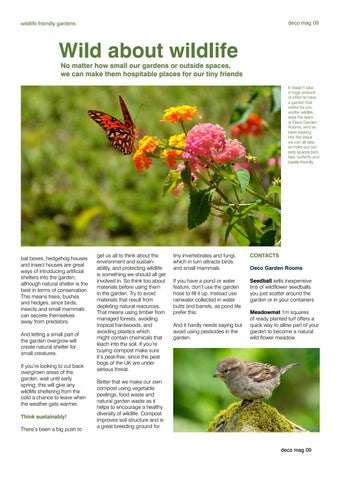 Page 9 of Wildlife friendly gardens