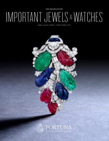 44935f4ab April 2018 Important Jewels & Watches Catalog by Fortuna Auction - issuu