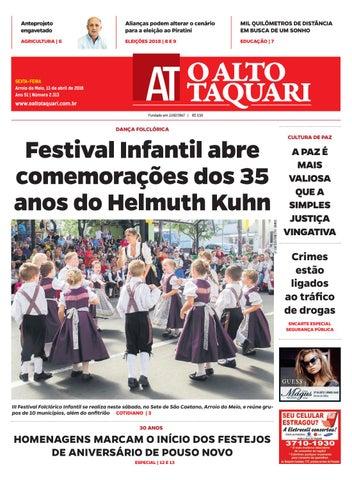 e89b08a8fe Jornal O Alto Taquari - 13 de abril de 2018 by Jornal O Alto Taquari ...