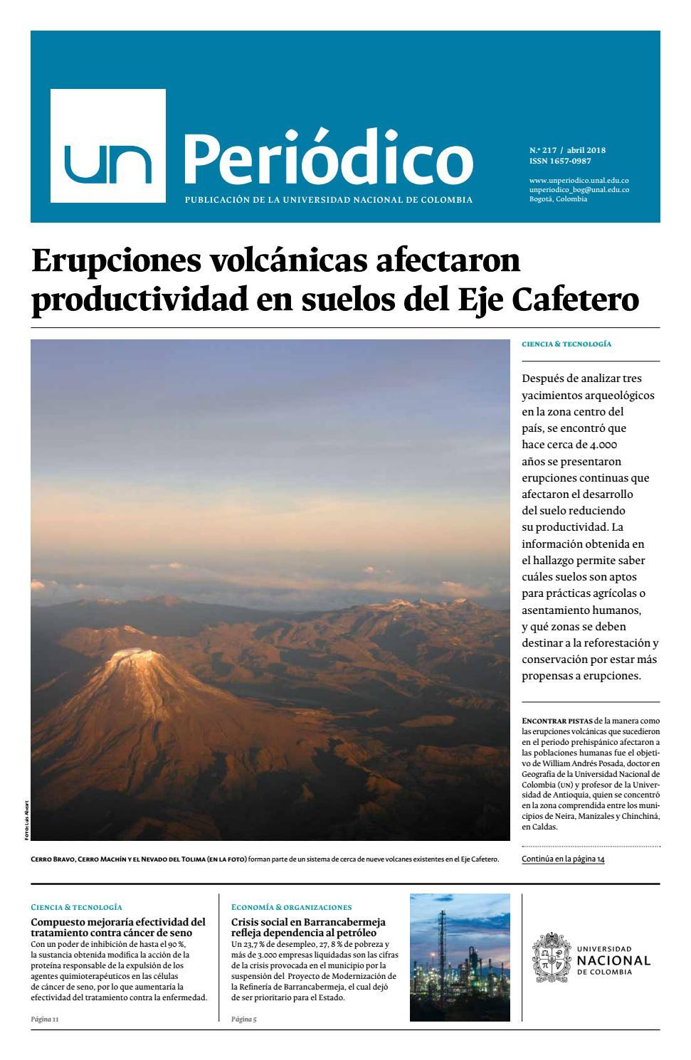334076097 Unperiodico 217 by Unimedios - Universidad Nacional de Colombia - issuu
