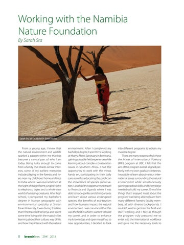Page 8 of Working with the Namibia Nature Foundation