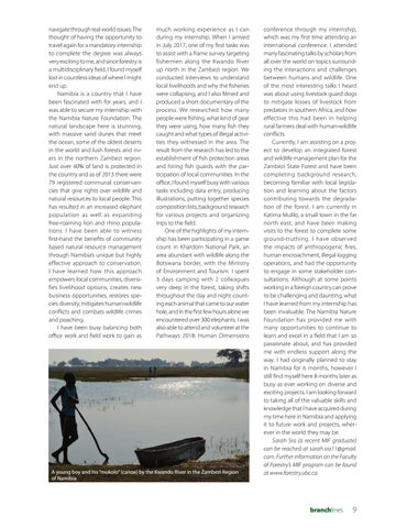 Page 9 of Working with the Namibia Nature Foundation