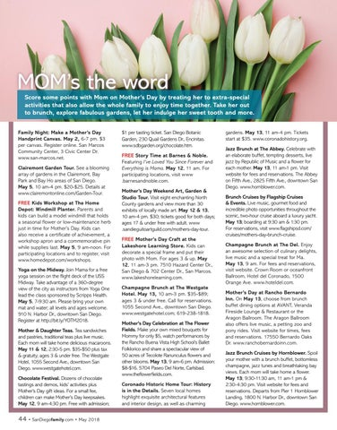 Page 44 of Ways to celebrate Mother's Day!