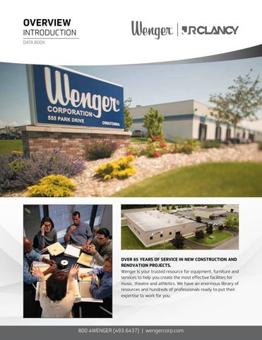24e7e526370a55 Wenger Data Book by Wenger Corporation - issuu
