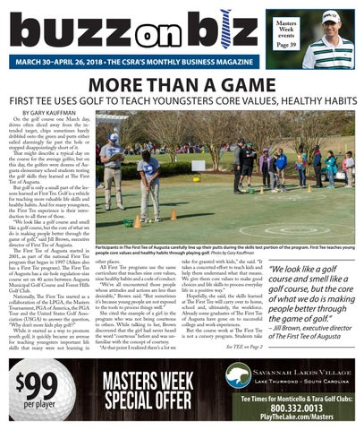 Buzz Issue March/April 18 by Gary Kauffman - issuu
