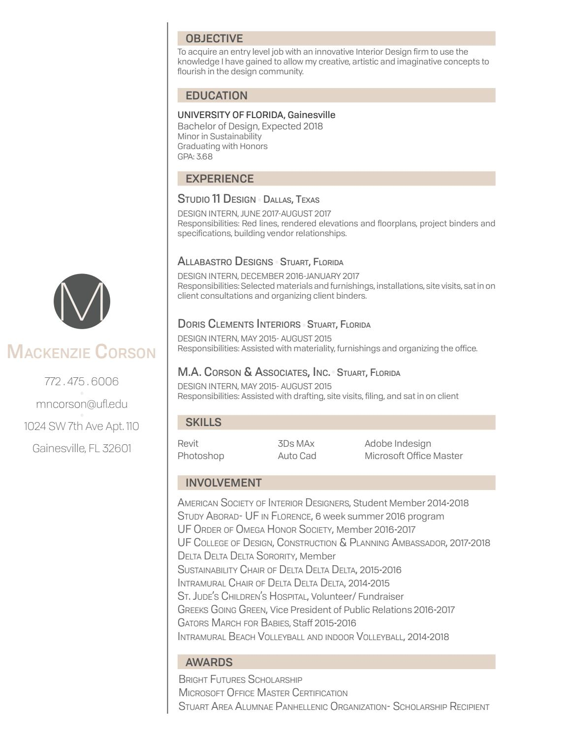 Resume By Mncorson Issuu
