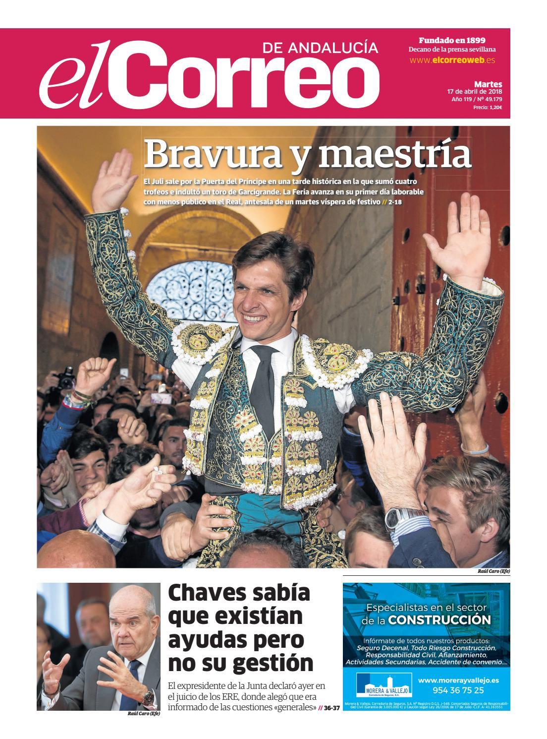 f0873b9261 17.04.2018 El Correo de Andalucía by EL CORREO DE ANDALUCÍA S.L. - issuu