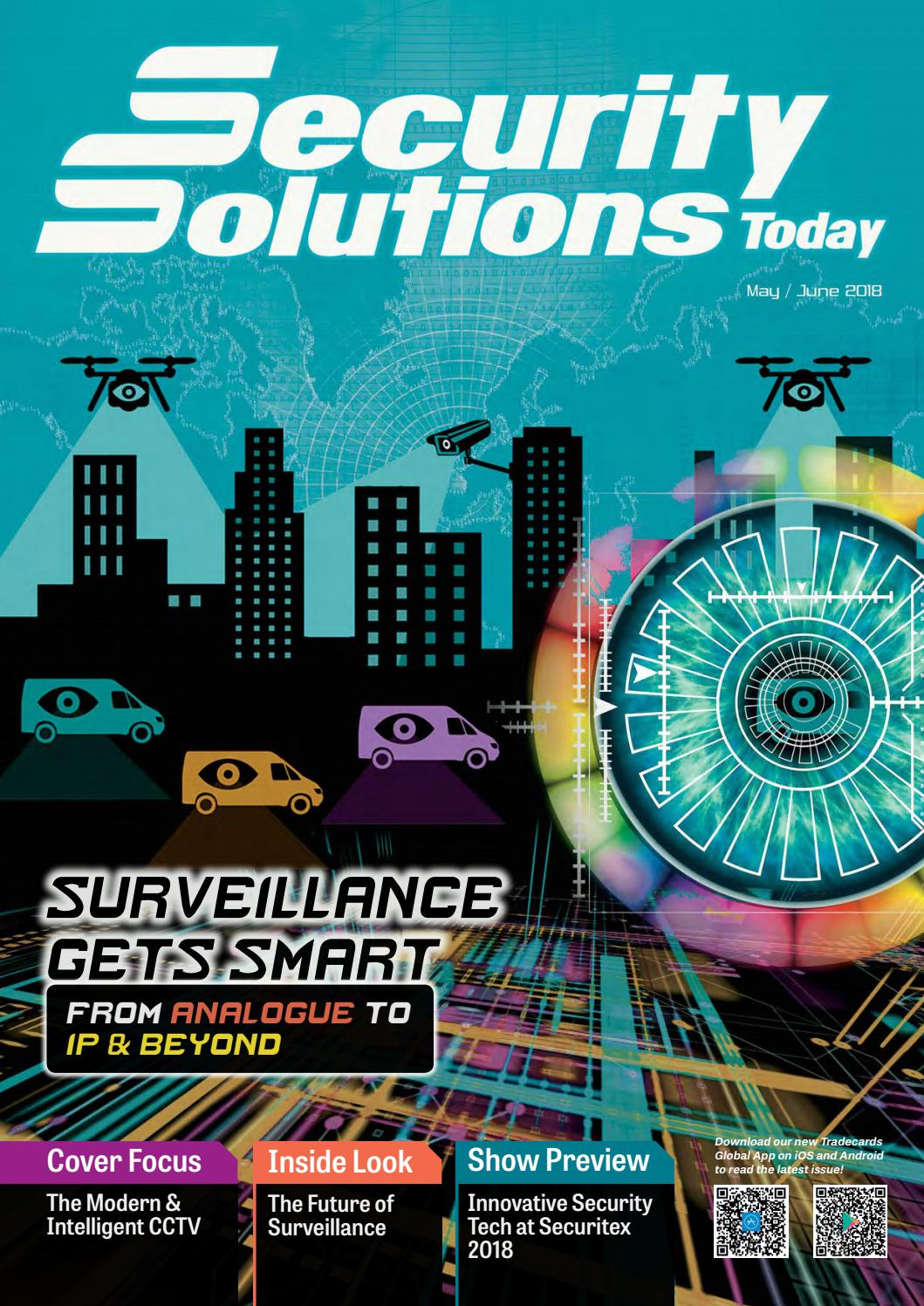 Security Solutions Today: May-Jun 2018 by Security Solutions