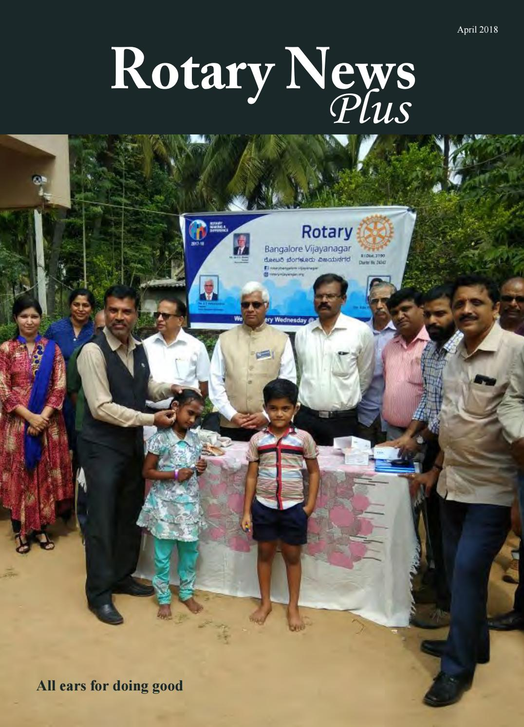 Rotary News Plus - April 2018 by Rotary News - issuu