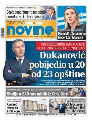 Dnevne novine 17  april 2018  by Dnevne Novine - issuu