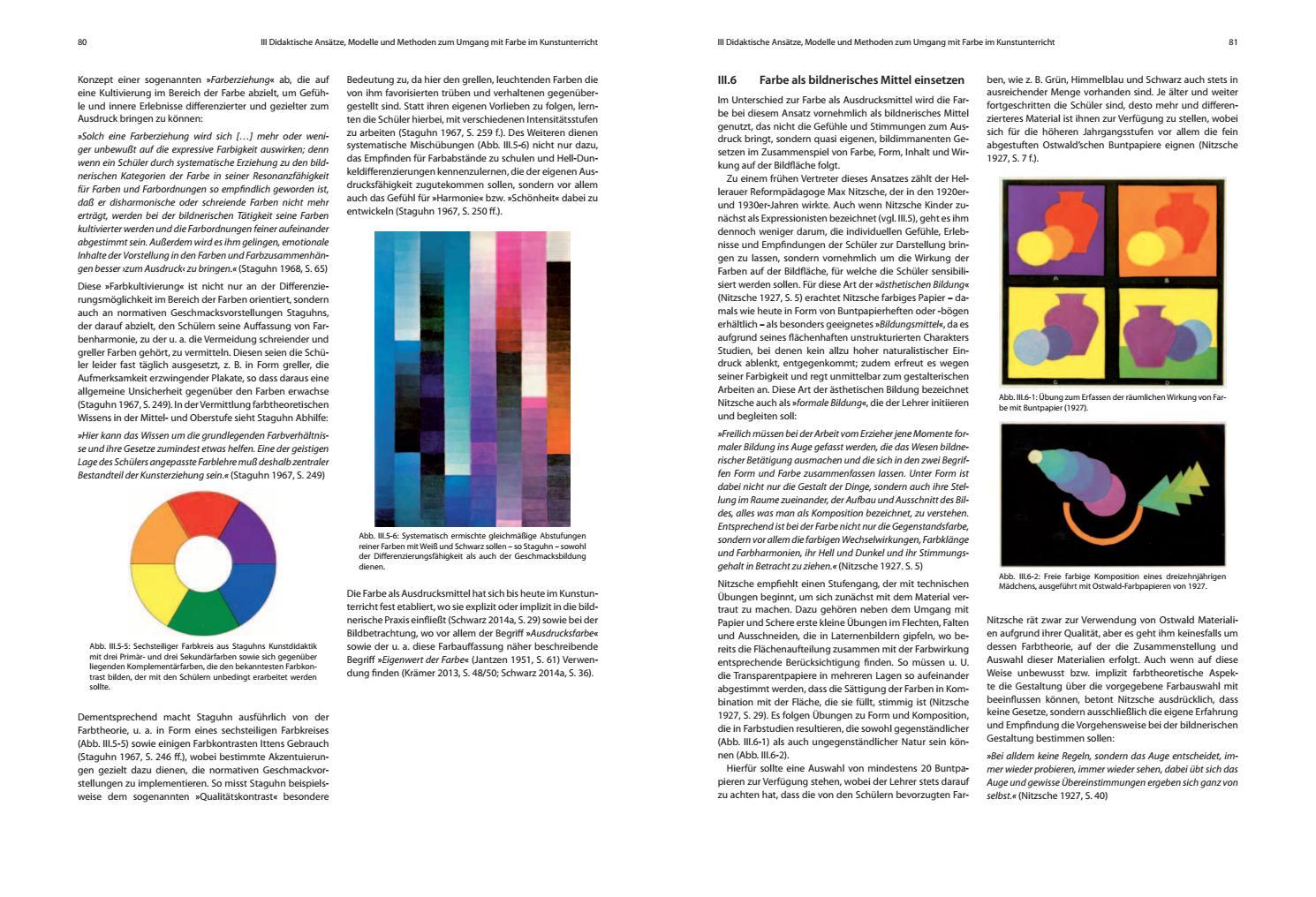 Leseprobe | Farbtheorie im Kunstunterricht by boesner - issuu