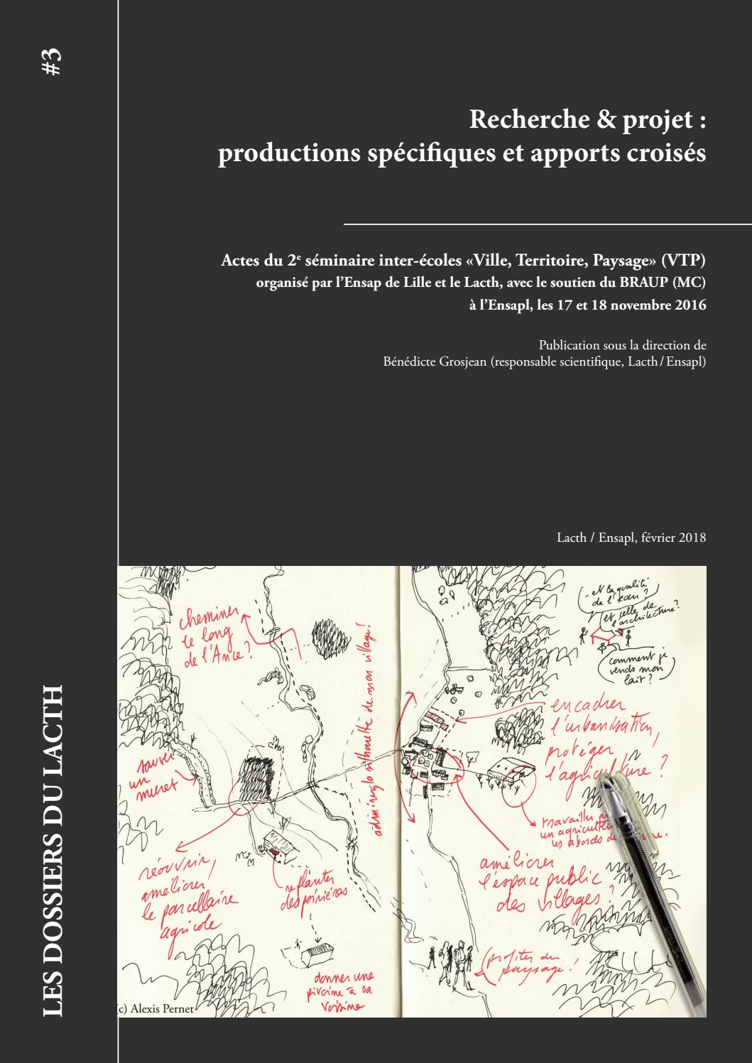 Beton De Synthese Avis dossiers du lacth #3. recherche & projet : productions